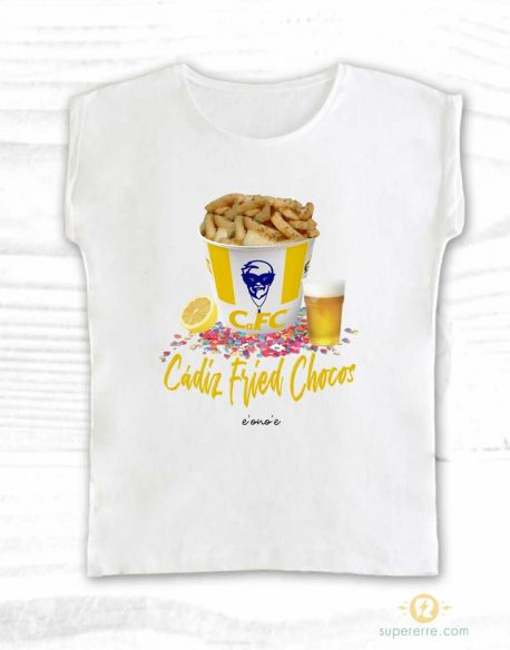 "Camiseta ""Cádiz Fried Chocos"""
