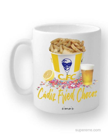 "Taza ""Cádiz Fried Chocos"""