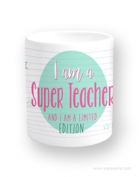 "Taza ""Super teacher"""