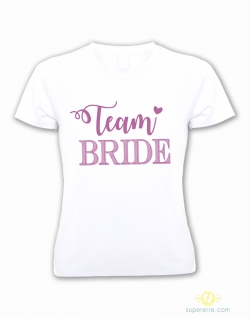 "Camiseta ""Team Bride"""